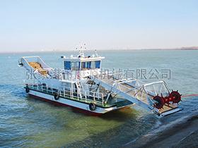 江苏  大型水草收割压缩船