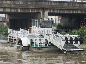 江苏  全自动割草保洁船