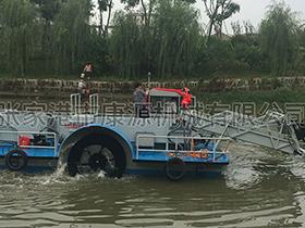 广东   全自动小型割草船