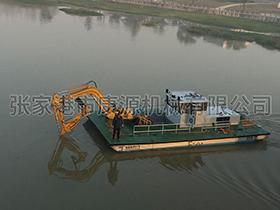 江苏   长距割草船