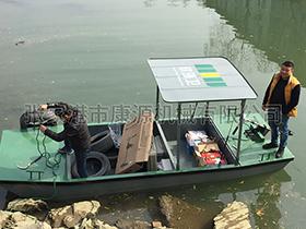 浙江  电动保洁船