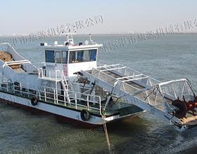 全自动大型水草收割压缩船